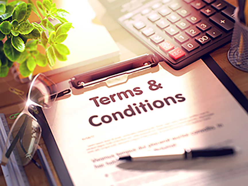 terms and conditions graphic