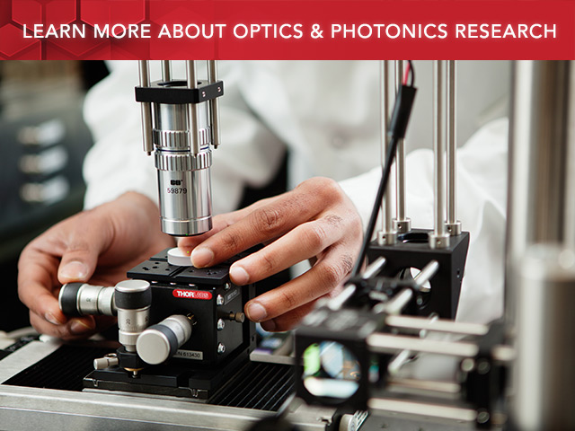 Optics & Photonics Research