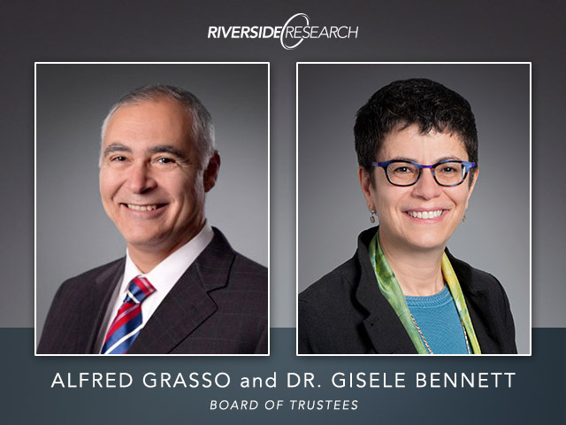 Riverside Research Welcomes Two New Members to Their Board of Trustees