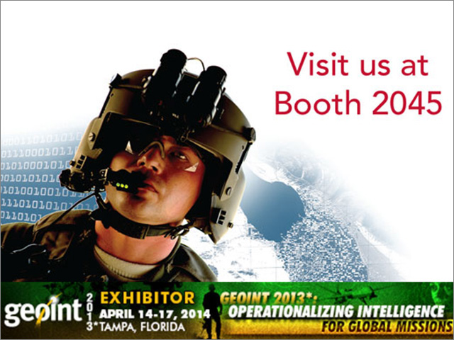 Riverside Research to Showcase Textbook, Big Data Solutions, and Mobile App at GEOINT 2013*