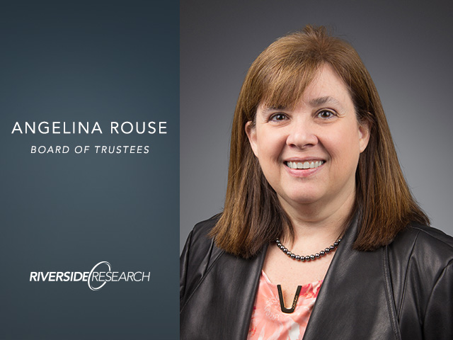 Riverside Research Board of Trustee Member, Angelina Rouse