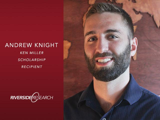 Second Ken Miller Scholarship Recipient