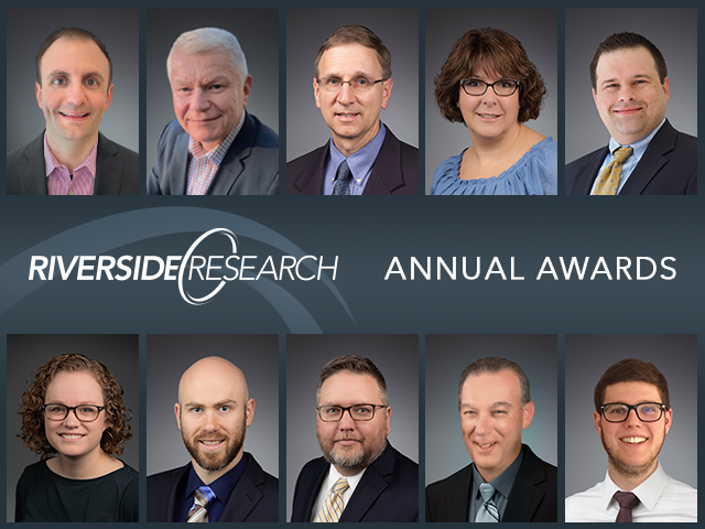 Riverside Research Annual Award Recipients