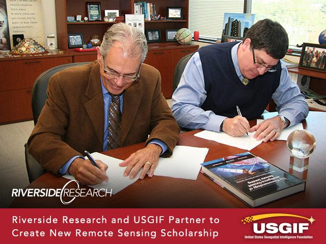 Riverside Research and USGIF Partner to Create New Remote Sensing Scholarship