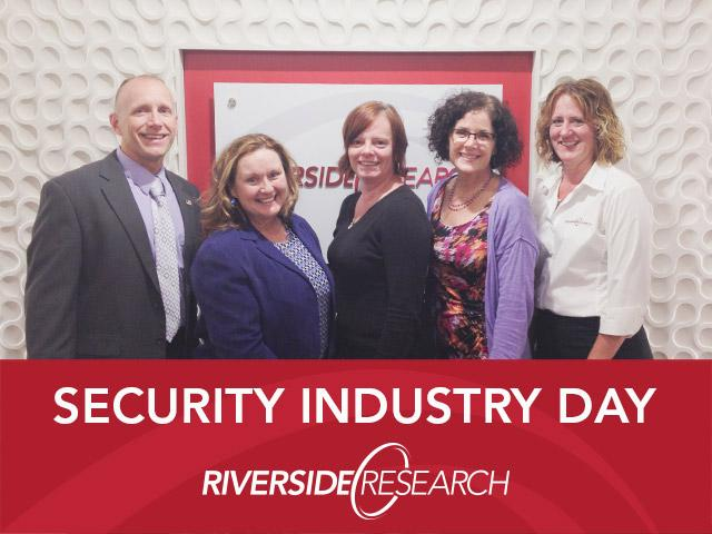 FBI and DSS Professionals Share Knowledge at Riverside Research's Security Industry Day