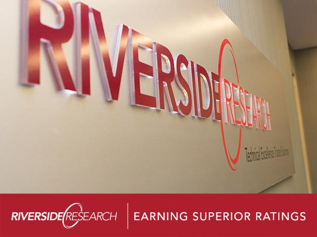 "Riverside Research Earned ""Superior Ratings"" by Defense Security Service"