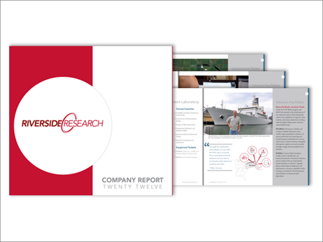 Riverside Research Proudly Presents the 2012 Company Report