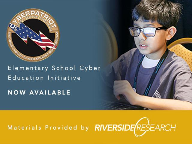 Air Force Association and Riverside Research Roll Out New CyberPatriot Program
