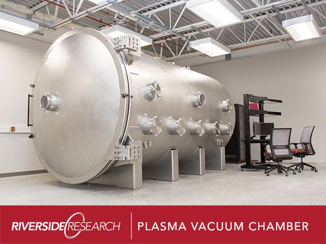 Riverside Research Conducts Successful Performance Acceptance Test on New Plasma Vacuum Chamber