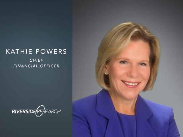Riverside Research CFO, Kathie Powers