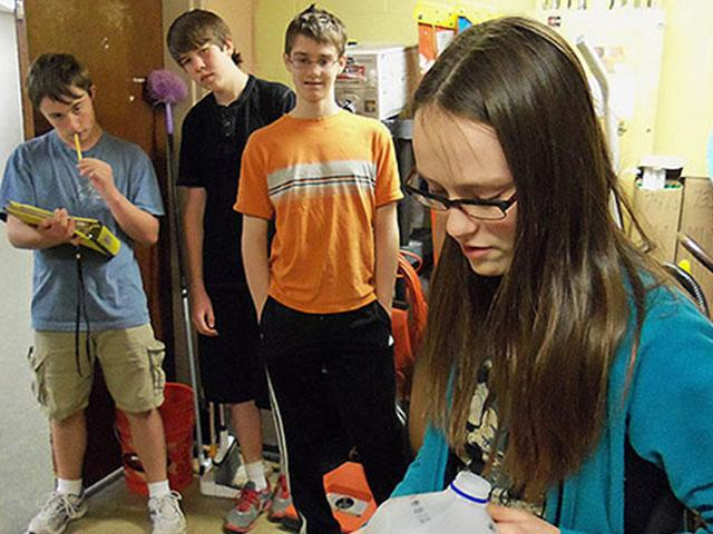 Centerville Students Culminate e-Text Pilot with Impressive STEM Presentations