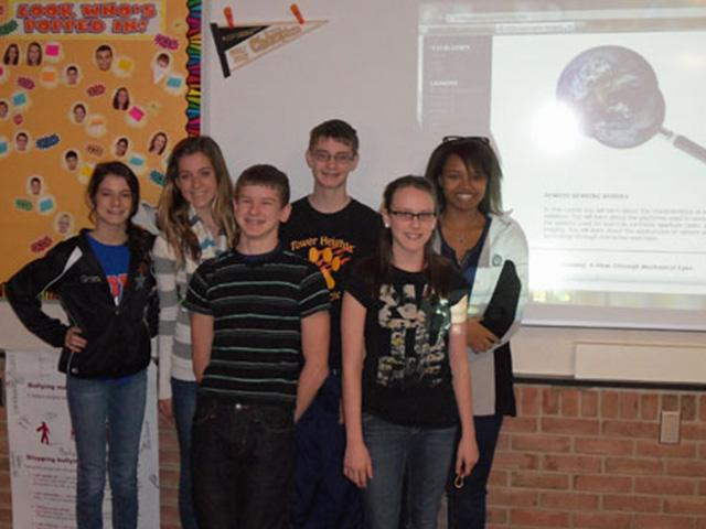 Centerville 8th Graders get Creative with Riverside Research e-Texts