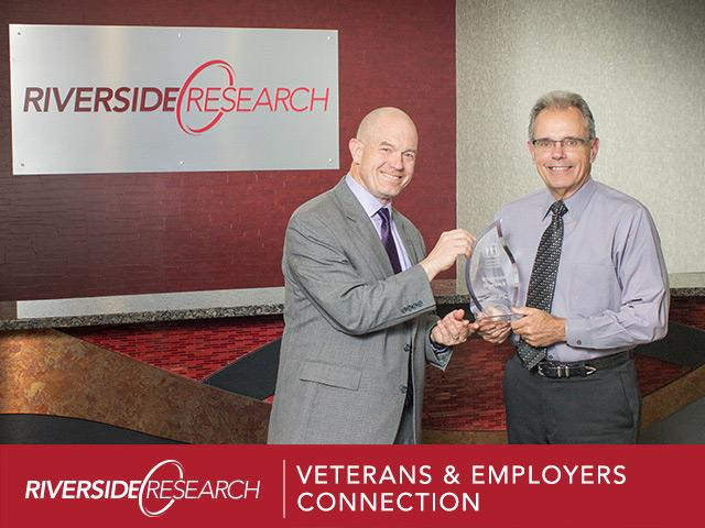 Riverside Research Honored by Veterans' & Employers' Connection