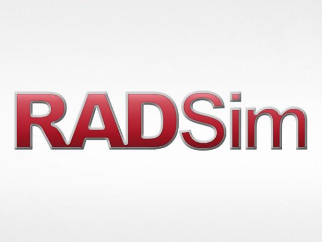 RADSim is a custom modeling and simulation tool